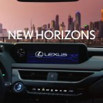 Lexus UX infotainment system display