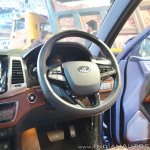 Mahindra Rexton dashboard driver side at Auto Expo 2018
