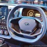 Mahindra TUV Stinger concept dashboard driver side at Auto Expo 2018