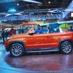 Mahindra TUV Stinger concept left side at Auto Expo 2018