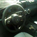 Mercedes A-Class Sedan (V177) interior spy shot