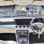 Mercedes E-Class All-Terrain dashboard at Auto Expo 2018