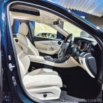 Mercedes E-Class All-Terrain front seats at Auto Expo 2018