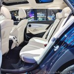 Mercedes E-Class All-Terrain rear seats at Auto Expo 2018