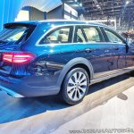 Mercedes E-Class All-Terrain rear three quarters at Auto Expo 2018