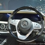 Mercedes-Maybach S 650 Saloon dashboard driver side at Auto Expo 2018