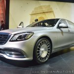 Mercedes-Maybach S 650 Saloon front three quarters at Auto Expo 2018