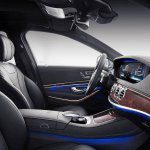 Mercedes-Maybach S-Class with customisations front seats