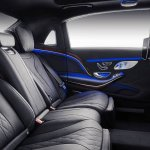 Mercedes-Maybach S-Class with customisations rear seats