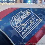 Renault Kwid Captain America Edition decals