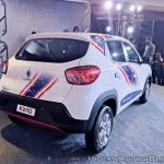 Renault Kwid Captain America Edition rear angle