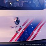 Renault Kwid Captain America Edition rear decals