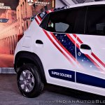 Renault Kwid Captain America Edition side decals