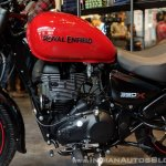 Royal Enfield Thunderbird 350X Red engine India launch