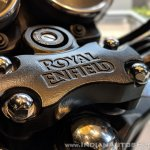 Royal Enfield Thunderbird 350X Red handlebar clamp India launch