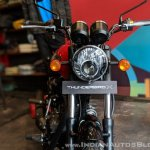 Royal Enfield Thunderbird 350X Red headlight India launch