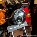 Royal Enfield Thunderbird 500X Orange headlight India launch