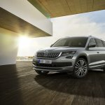 Skoda Kodiaq L&K front three quarters