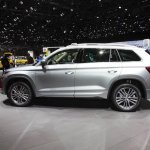 Skoda Kodiaq Laurin & Klement profile at 2018 Geneva Motor Show