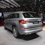 Skoda Kodiaq Laurin & Klement rear three quarters at 2018 Geneva Motor Show