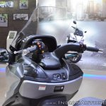 Suzuki Burgman 650 handlebars at 2018 Auto Expo
