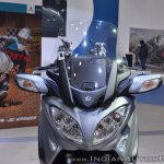 Suzuki Burgman 650 headlamps at 2018 Auto Expo
