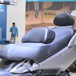 Suzuki Burgman 650 seats at 2018 Auto Expo