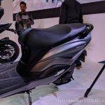 Suzuki Burgman Street seat at 2018 Auto Expo