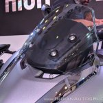 Suzuki Burgman Street visor at 2018 Auto Expo