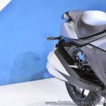 Suzuki Intruder 150 FI exhausts at 2018 Auto Expo