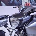 Suzuki Intruder 150 FI headlight at 2018 Auto Expo