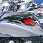 Suzuki Intruder 150 FI tail light at 2018 Auto Expo