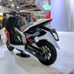 TVS Creon Concept rear left quarter at 2018 Auto Expo
