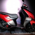 TVS Ntorq 125 India launch red right side