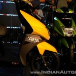 TVS Ntorq 125 India launch yellow apron
