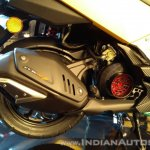 TVS Ntorq 125 India launch yellow exhaust