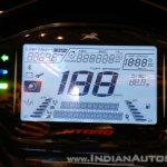 TVS Ntorq 125 India launch yellow instrument cluster