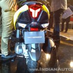 TVS Ntorq 125 India launch yellow rear