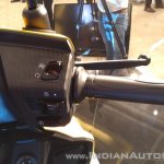 TVS Ntorq 125 India launch yellow right switchgear