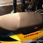 TVS Ntorq 125 India launch yellow seat