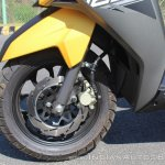 TVS Ntorq 125 front brake first ride review