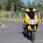 TVS Ntorq 125 front first ride review