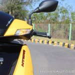 TVS Ntorq 125 front indicator first ride review