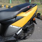 TVS Ntorq 125 left body panel first ride review