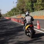 TVS Ntorq 125 rear action first ride review