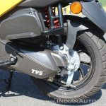TVS Ntorq 125 rear brake first ride review