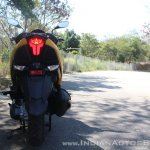 TVS Ntorq 125 rear first ride review