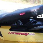 TVS Ntorq 125 under seat closed first ride review