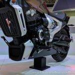 TVS Zeppelin Concept powertrain at 2018 Auto Expo