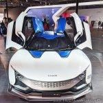 Tamo Racemo± EV front at Auto Expo 2018